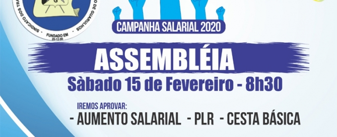 Campanha Salarial 2020