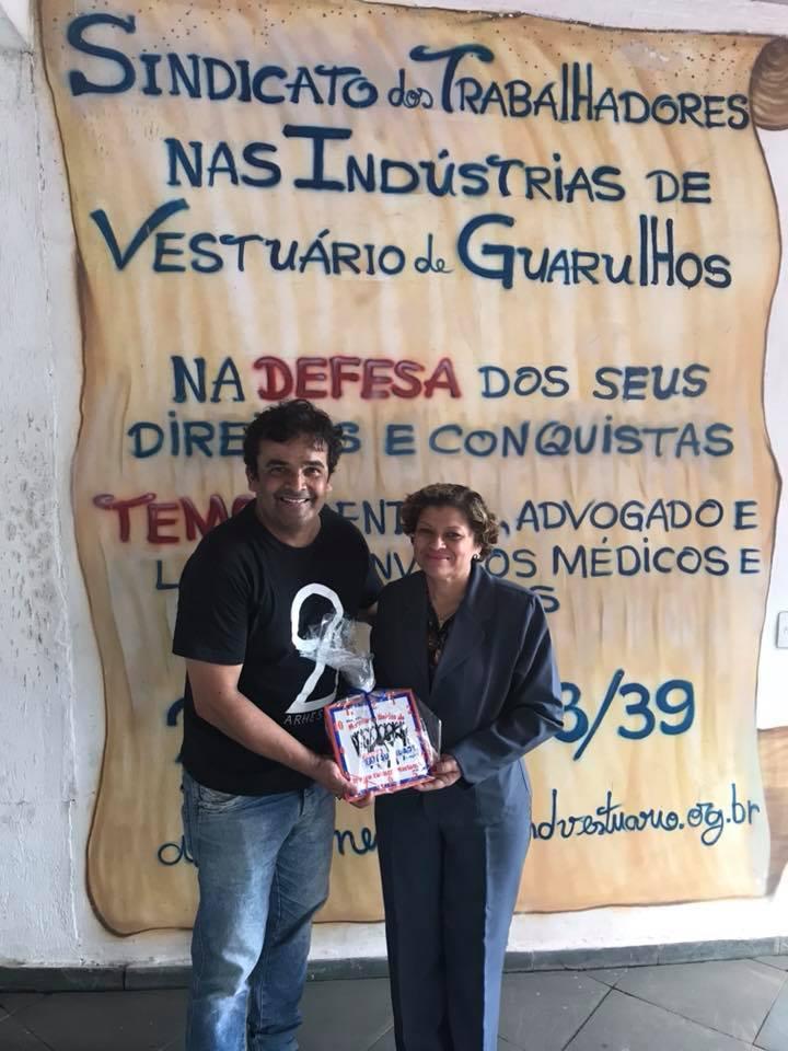 Secretário da Cultura visita Sindvestuário Guarulhos